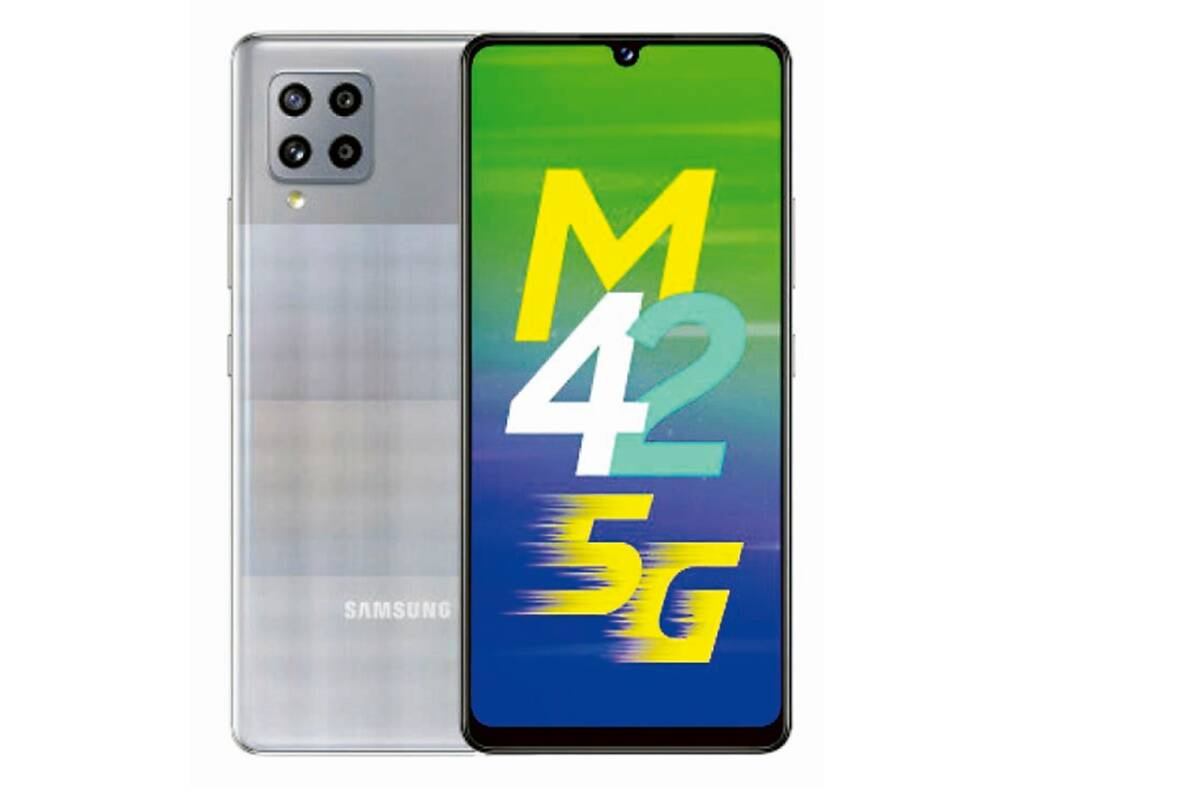 Samsung Galaxy M42 5G: More energy and speed at your fingertips