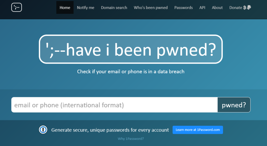 Password breach service Have I Been Pwned goes open supply