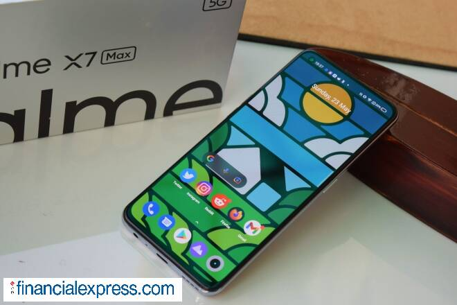 Realme X7 Max 5G with Dimensity 1200, 120Hz show and 50W rapid charging launched in India, Realme Smart Television 4K also tags along