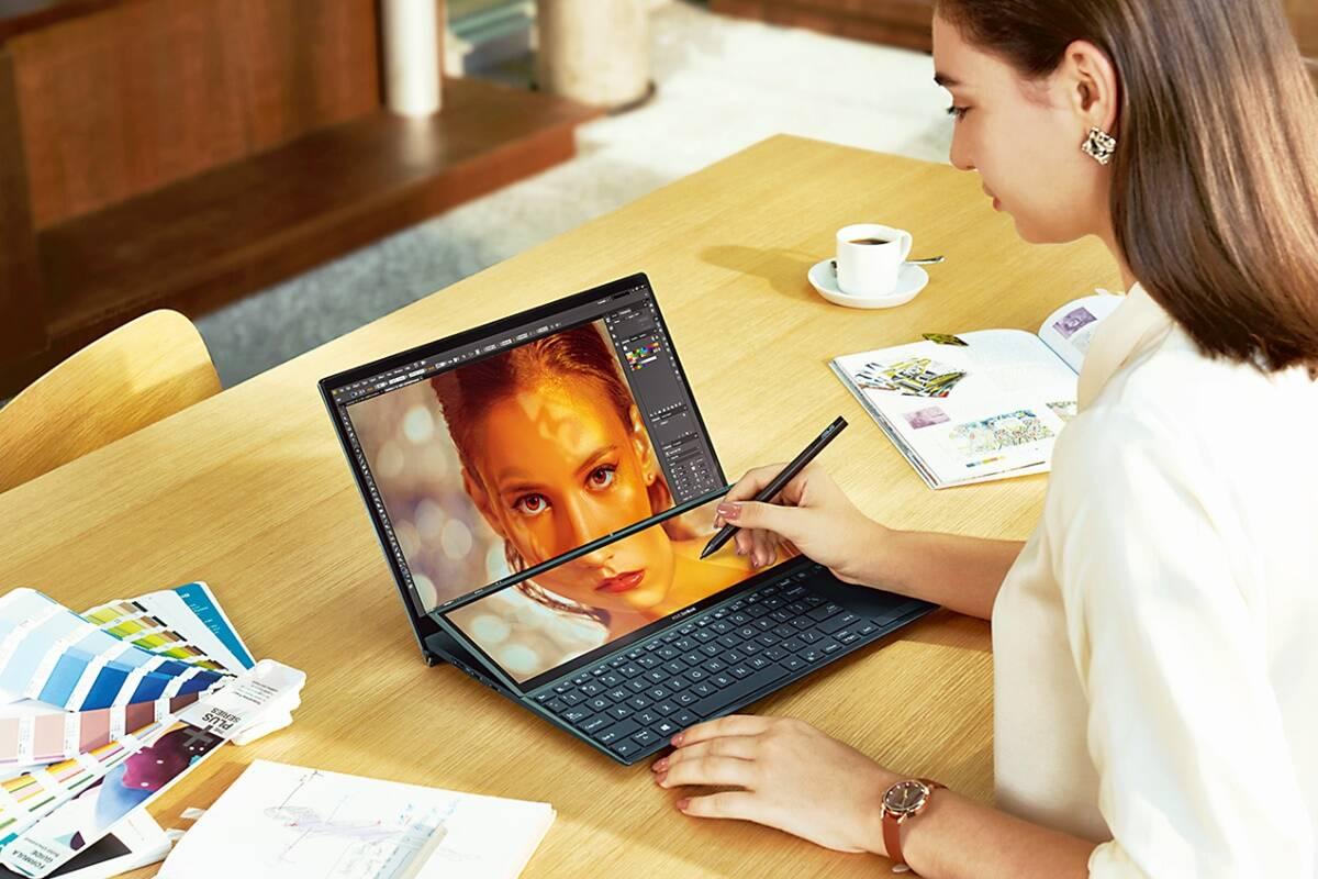 Asus ZenBook Duo: Plenty of energy in this dual-screen wonder