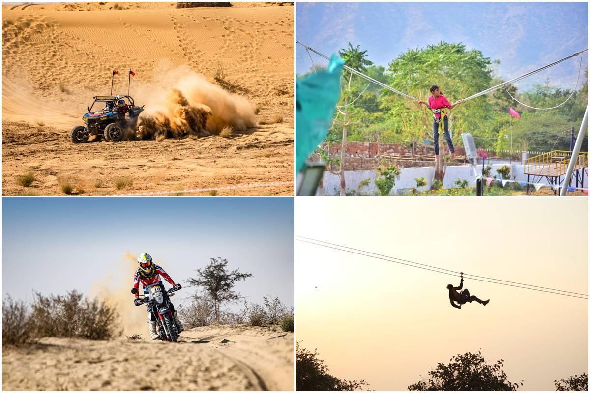Paragliding, desert trails, helicopter ride, zip-line, udaipur, ATV ride, rajasthan tourism, Nathdwara